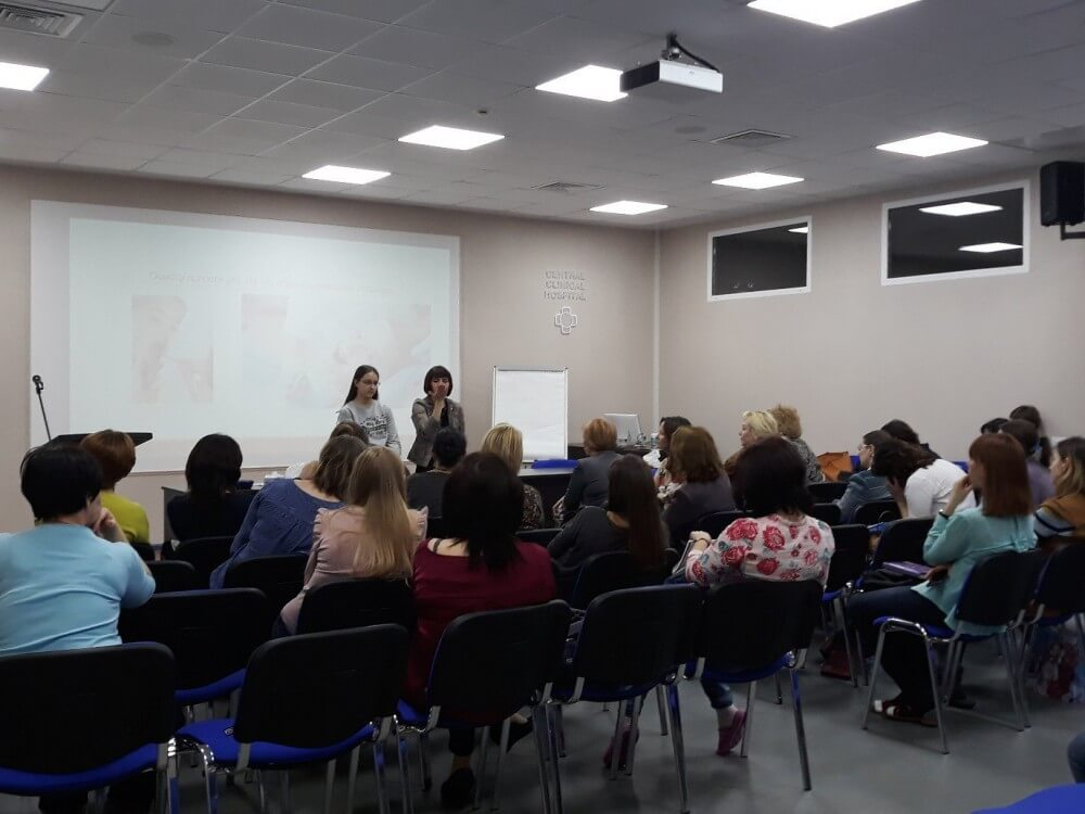 В ЦКБ проходит междисциплинарный семинар с участием логопедов, психологов, стоматологов, ортодонтов, остеопатов, неврологов.